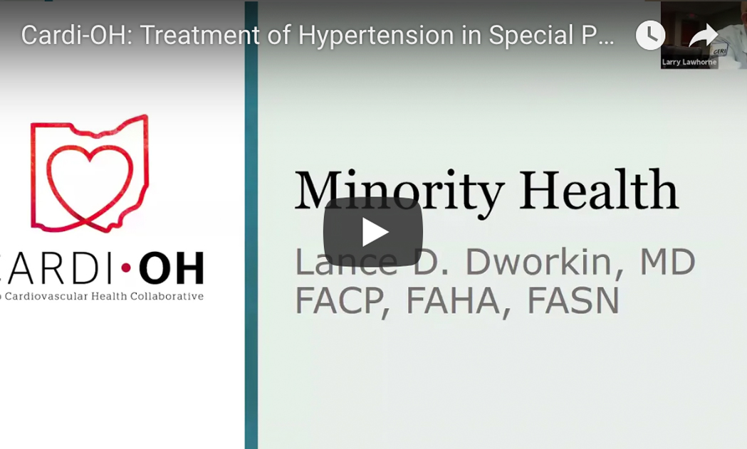 Hypertension in Special Populations